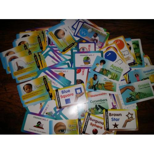 Flash Cards - Full Color Set of 116 Double Sided Cards - 232 Card Designs