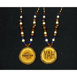 Handcrafted HalleluYAH Necklace Double Sided