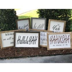 Wood Signs featuring the unabridged Word