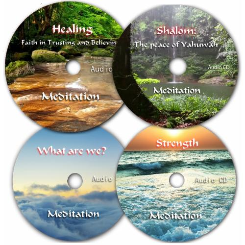 Power Meditation Audio CD Series, Set of 4 CD's
