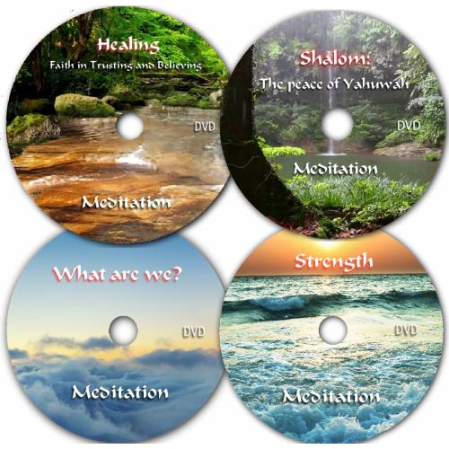 Power Meditation Video DVD Series, 4 DVD set