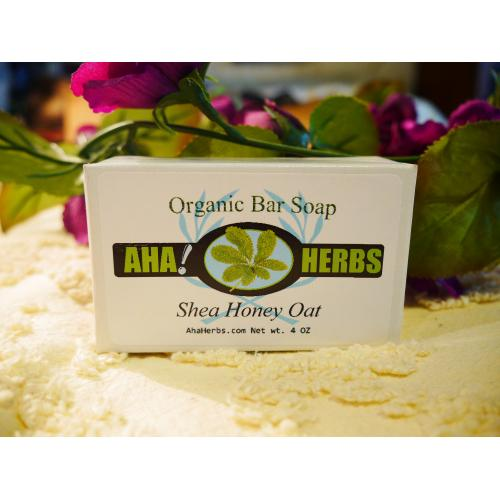 AhaHerbs Herbal Soap - Shea Honey Oat