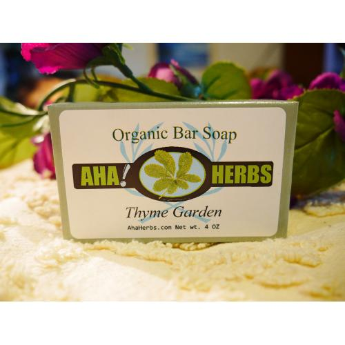 AhaHerbs Herbal Soap - Thyme Garden
