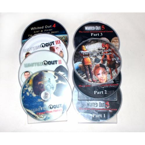 Whited Out Documentary Series 1-6, 6 DVD Collection Set