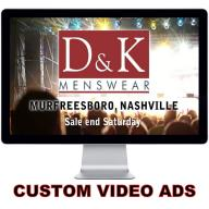 60 Sec. Custom HD Video Commercial